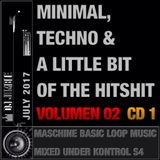Minimal, Techno and a little bit of the HitShit Vol. 02 (CD1)