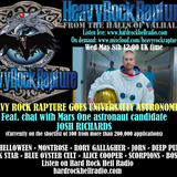 Hard Rock Hell Radio-Heavy Rock Rapture May 8 2019 feat. Mars one astronaut candidate Josh Richards