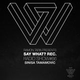 Say What? Recordings Show 066 with Sinisa Tamamovic