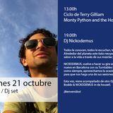 Dj set Nickodemus La Mesa Barcelona 23/10/13