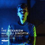 Sinoptik - Rinse FM The Mekanism Radio Show 22-08-2018
