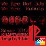 Sonar 2013. Kraftwerk Inspiration