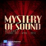Black 8 - Mystery Of Sound - Episode 001 - April - 2013 @DI.FM