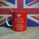 Keep calm and drink tea!