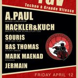 A.Paul - Live Set - TGV, Amsterdam, NL - 12.04.2013