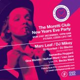 Dj Nathan Ward NEW YEARS EVE PROMO  For The Moretti Club  @ 212 Cafe & Bar Leeds 31/12/18   2 hours