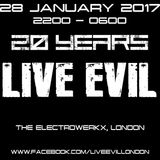MANU LE MALIN @ LIVE EVIL 20th Anniversary Jan 2017