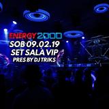 Energy 2000 Katowice - We Are United 09.02.19 - Sala VIP - Dj Triks