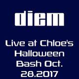 diem live at Chloe's Halloween Bash 10-28-17