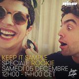 Keep It Sample : Spéciale Rookie + Dj set Low Cut - 05 Décembre 2015