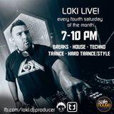 Loki Live! Feat. K-Front - Safehouse Radio - 23/11/19