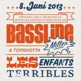 20130704 higherbeats.de - BasslineMiller & Topshotta (recorded at Les Enfants Terribles)