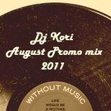 Dj Kori - August Promo mix 2011