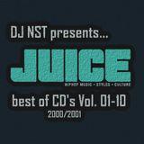 DJ NST - best of Juice CDs 01-10