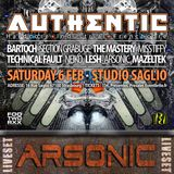 ARSONIC Liveset @ AUTHENTIC (Strasbourg) 6.2.2oI6