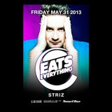 Striz live at Smartbar with Eats Everything 5/31/13