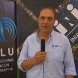 Tec. Agr. Alfredo Fros- Pte del Crilu, octava entrega de carneros del consorcio