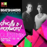 The Beatshakers Radio Show #397 + Guest Mix by Divolly & Markward