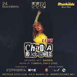 Diretta - Chadia Rodriguez - 24.11.18 - Mathilda Disco Club
