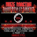 Noize mastah - Hard Styles Loverz - Hardstyle.nu -Thrillogy Part 1 - Friday 01 March 2013