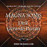 Gerardo Duran - MAGNA SONIS 016 (15th March 2017) on TM-Radio