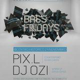 PIX.L - BASS FRIDAYS #03 PROMO MIX