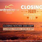 Mianviru - Jardines del mar Clossing Tardes 2016