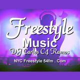 Freestyle Music NYC Freestyle 54fm - DJ Carlos C4 Ramos