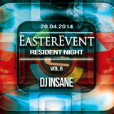 EASTER EVENT 20.04.2014 EKWADOR MANIECZKI vol.6 DJ INSANE