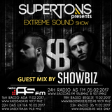 Showbiz exclusive mix for Extreme Sound show #276 with Supertons