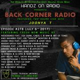 BACK CORNER RADIO: Episode #278 (July 6th 2017)