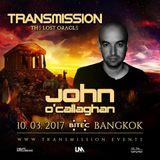 John O'Callaghan - Transmission Thailand 2017 (Free) → [www.facebook.com/lovetrancemusicforever]