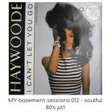 MY basement sessions 012 - soulful 80's pt1