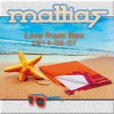 DJ Mattias Live from Rex 140607