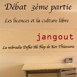 """3ème débat """"Les licences et la culture libre"""""""