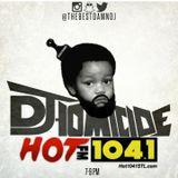 DJ HOMICIDE on Hot 104.1 LABOR DAY 2015 PT 1