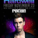 DJ Paul Ross Live @ Pacha NYC w/ Hardwell