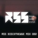 """""""RSS DISCOTHEQUE MIX 002"""" presented by DJ Mykal a.k.a.林哲儀"""
