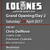 Chris DelNova@Cocones Beach Bar (29.04.2017)[DEEP HOUSE]