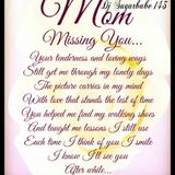 Missing You Mom