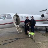 something a little bit different - private jet - Sun 13 Jan 2019