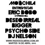 MOOCHILA con PSYCHO SIDE, NYA, DESEO IRREAL, BIGGER, ERIC BOBO, DJ NELSON, RESINA LALA