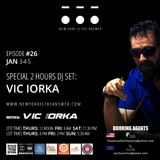 NEW YORK IS THE ANSWER - EPISODE 26 - VIC IORKA - NYE - JAN 3-4-5