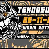 Stefan Kierewiet Hashtek23 @ TeknoSucks rave 25-11-2017 @ WORM Rotterdam