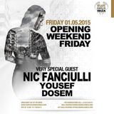 Nic Fanciulli – Live @ Blue Marlin Opening Party (Ibiza) – 01.05.2015