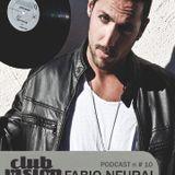 Club Vision#10 Podcast - Fabio Neural (Tinì Soundgarden, Cecina)