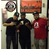King Reegz from The Beat Cellar Camp chills with Da Maddhouze