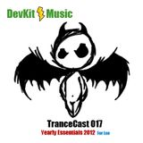 DevKit TranceCast 017 - Yearly Essentials 2012 (For Lee)
