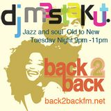 2017/10/24 DJ Mastakut Show on Back2Backfm.net