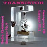 Transistor sur Emergence FM 97.3 Limoges, Radio Résonance 96.9 Bourges et Radio Vassivière été 2019